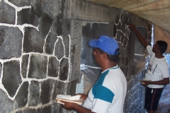 Conservation works at the Aapravasi Ghat 2009